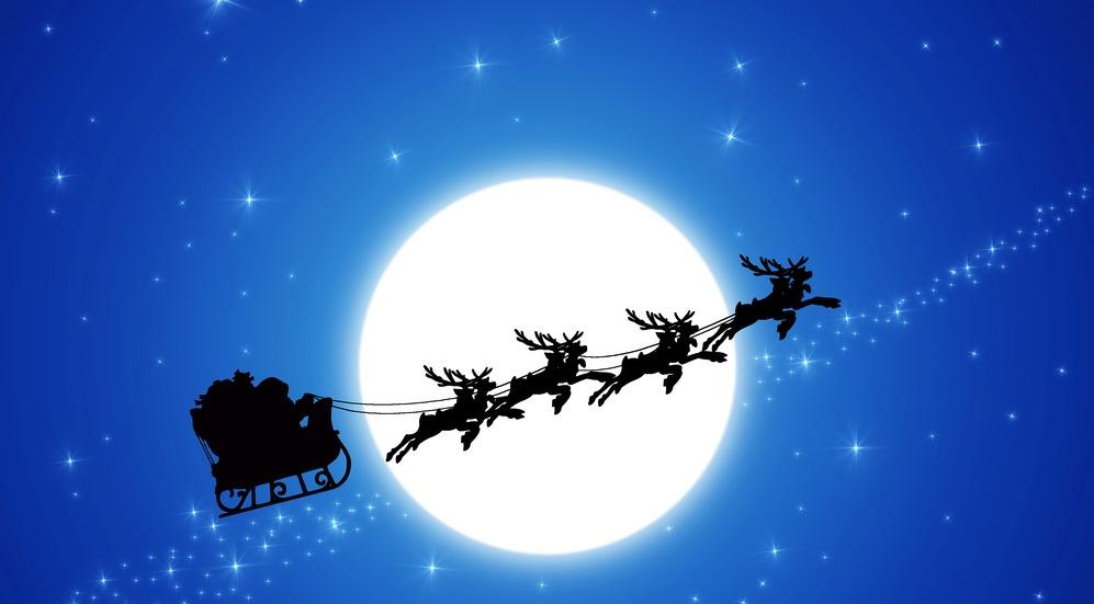 Percorso Babbo Natale.Norad Tracks Santa Traccia In Tempo Reale Il Percorso Della Slitta